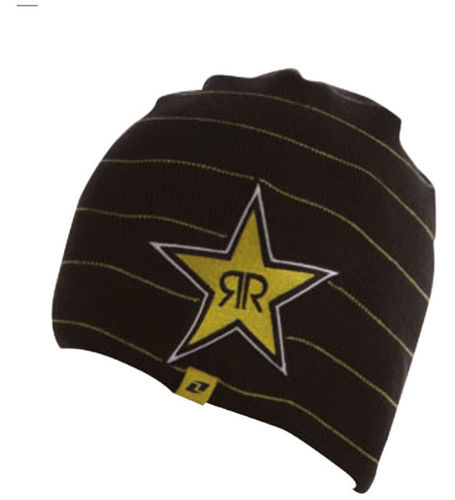 Rockstar Stripes beanie black pipo